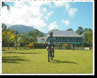Joys of Biking Nevis Style
